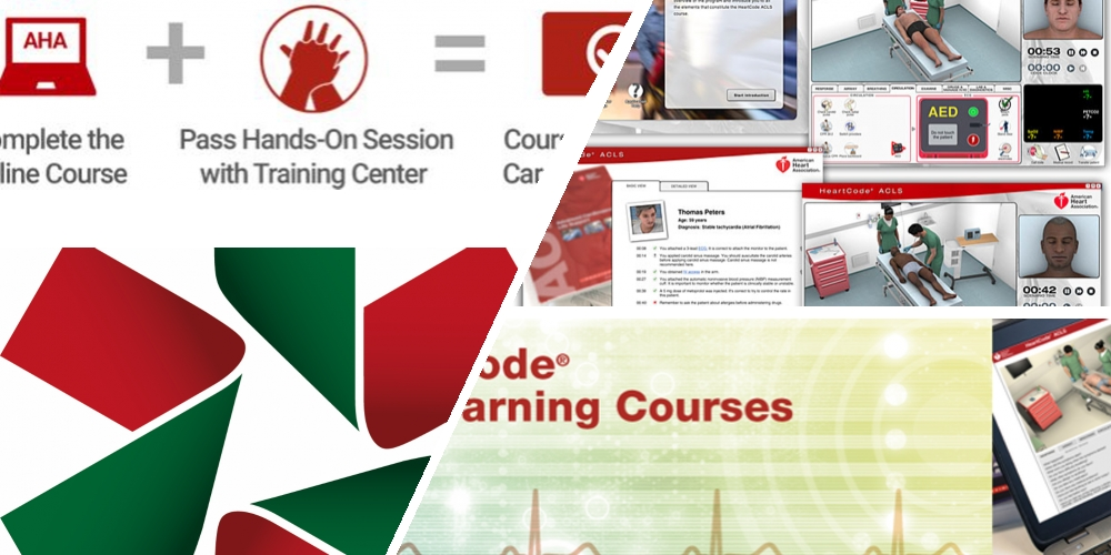 AHA HeartCode BLS course (This is the ONLINE part 1 only and does not include the face-to-face Part 2 course)
