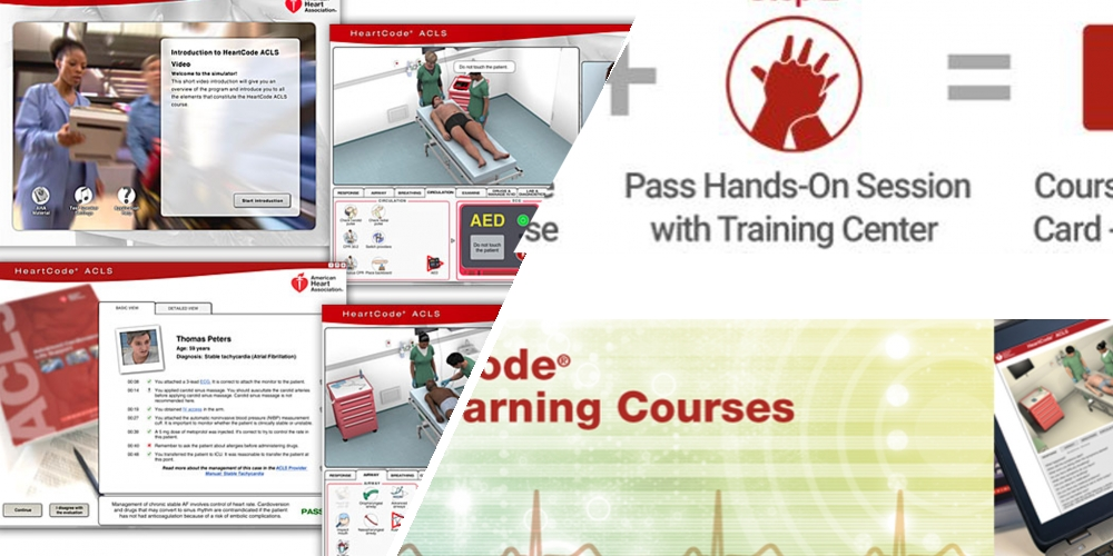 HeartCode (HC) online & BLS for HealthCare professionals face to face course.